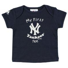 Amazon.com: MLB New York Yankees Baby / Infant My First Tee T-Shirt: Clothing