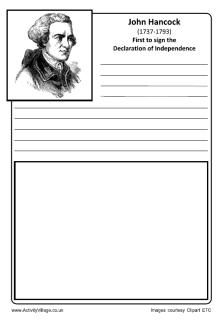 john hancock notebooking page there are lots of coloring sheets ill use