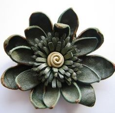How to make Leather Flower                              …