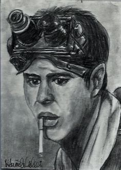ACEO 80's MOVIES: GHOSTBUSTERS Ray Stantz Dan Aykyrod Sketch Card by MIRACLE
