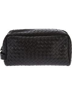 BOTTEGA VENETA Intrecciato Wash Bag. #bottegaveneta #bags #leather
