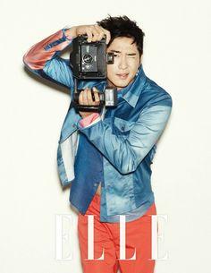 Kang Ji Hwan Elle Korea Magazine June Issue '12