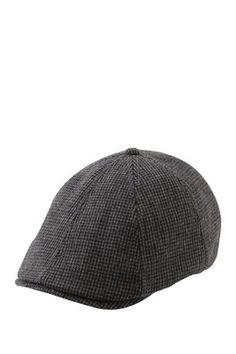 Ben Sherman Dogstooth Driving Cap