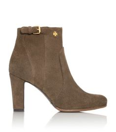 Gorgeous suede bootie - GREAT Tory Burch sale - double click pic and use code FRIENDS