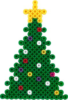 .Christmas tree Hama beads