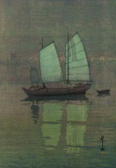 Hiroshi Yoshida, 1926.