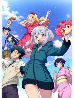 'Eromanga Sensei - Sagiri / Elf / Masamune' Poster by Kawaii Girl, Kawaii Anime, Animes Wallpapers, Cute Wallpapers, Anime Figures, Anime Characters, Cosplay, Eromanga Sensei Sagiri, Anime Shop