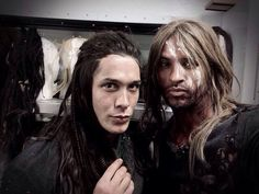 The 100 bobby morley and ricky whittle. lol