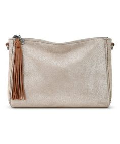 747b78064716 Take a look at this The Sak Nude Sparkle Pfieffer Leather Demi Shoulder Bag  today!