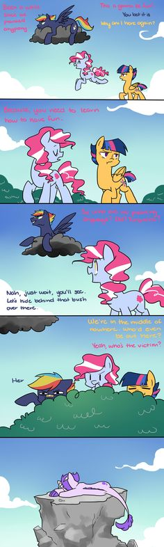 The Prank Pt 1 -  This was on Prismatic Light, a MLP fan who has i think about ten boards or more on the subject, 's board, and I liked it so much I wanted to share. I'll pin the rest