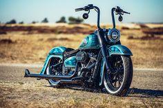 Custom Sportster, Custom Bobber, Custom Choppers, Custom Harleys, Custom Motorcycles, Custom Bikes, Harley Davidson Softail Slim, Harley Softail, Harley Davidson Touring