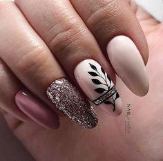 Gelish Nails, Nude Nails, Pink Nails, Acrylic Nail Designs, Nail Art Designs, Acrylic Nails, Color For Nails, Nail Colors, Classy Nails