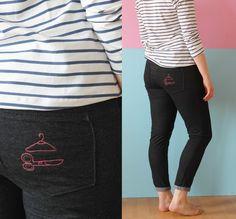 Ginger Jeans, Klappe die zweite + Plaintain Tee - Seemannsgarn • handmade