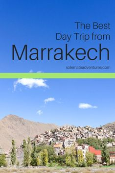An Imlil day trip is the perfect day trip from Marrakech! Get away from the heat and hike around this peaceful town in the Atlas Mountains. Visit Morocco, Morocco Travel, Africa Travel, Marrakesh, Casablanca, Luxor Egypt, Travel Guides, Travel Tips, Humor