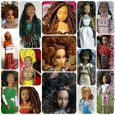 Queens of Africa Dolls - Queens of Africa celebrates being an African girl in the 21st century by drawing on the strengths and achievements of our ancestors and bring them up to date to empower and inspire today's generation of African girls.