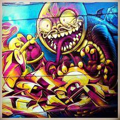 #DragonBlood street art graffiti