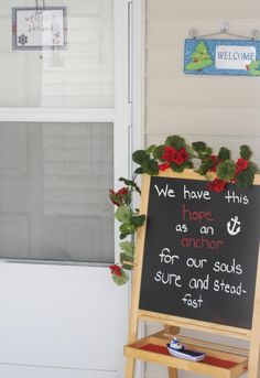 hebrews 6:19 - wonderful addition to nautical party!