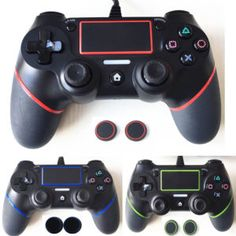 Sale!  For PS4 Controller Wired Gamepad For Playstation Dualshock 4 Joystick Gamepads Multiple Vibration