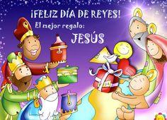 """EvDH:""""Cuando vieron la estrella se llenaron de alegría, y al entrar en la casa, encontraron al niño con María, su madre, y postrándose, le rindieron homenaje. Luego, abriendo sus cofres, le ofrecieron dones: oro, incienso y mirra"""". Lo mejor que le puedes dar al Niño Dios (que lo tiene todo) es a ti mismo, es tu corazón, tu ser. Adóralo, que Jesús nunca se queda con nada.  vía +Martin Valverde +Martin Valverde https://twitter.com/martinvalverde"""