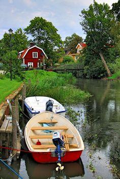 #Schwedenhaus idyllisch am See - #Sweden