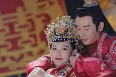 Princess Weiyoung, Luo Jin, Traditional Chinese, Crown, Dresses, Fashion, Vestidos, Moda, Corona