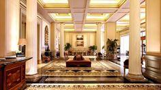 Love this hotel! Hotel Grande Bretagne Lobby | Via Hotel Grande Bretagne
