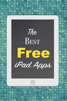 25 Best Free iPad Apps Make the most out of your iPad with these apps.Make the most out of your iPad with these apps. Best Free Ipad Apps, Ipad Pro Apps, Ipad Hacks, Best Ipad Games, Free Apps, Iphone Hacks, Iphone 5se, Android Hacks, Apple Watch Iphone