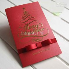 Christmas Card Wholesale Wholesale Christmas Cards,business Pearl Ribbon Christmas Cards