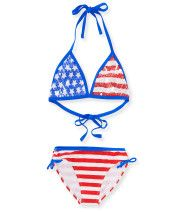 Kids' Americana Bikini Set PS From Aéropostale