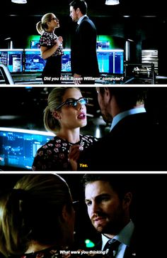 """#Arrow 5x14 """"The Sin-Eater"""" - """"What were you thinking?"""" - #OliverQueen #FelicitySmoak"""