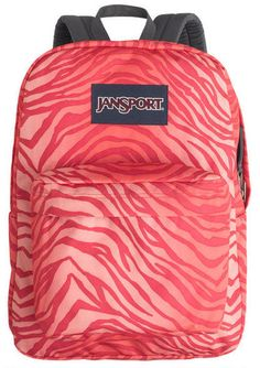Nice light colored zebra backpack