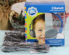Mommy Katie: Holiday Gift Ideas: Bluetooth Stereo Headphones fo...