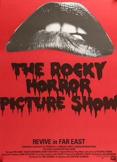 "Rocky Horror Picture Show (1975) Vintage R97 Japanese Movie Poster - 20"" x 29"""