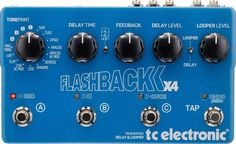 TC Electronic Flashback X4 Delay Looper EFFECTS PEDAL 5706622011329 | eBay