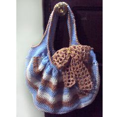 Bow Peep Tote - PDF Crochet Pattern. $4.95, via Etsy.