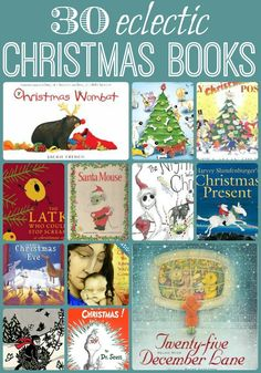 30 Christmas Books - a fantastic eclectic selection, I challenge you NOT to find something new! What is YOUR favourite book? Preschool Christmas, Noel Christmas, Christmas Books, Christmas Activities, Christmas Traditions, Christmas And New Year, Winter Christmas, Christmas Themes, All Things Christmas
