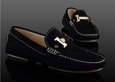 Tods -- Suede Gommino Driving Shoes