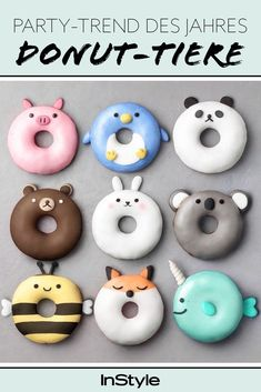 Donuts are fried sweets made with flour, white sugar, butter and eggs. Donuts are one of the favorite foods of American nationals. Donuts are more welcomin Delicious Donuts, Delicious Desserts, Yummy Food, Cute Donuts, Mini Donuts, Doughnuts, Comida Disney, Disney Food, Disney Pixar