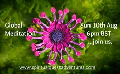 Join us this Sunday for an online global meditation. Be the change now. https://www.facebook.com/events/435851196556322/