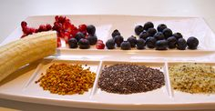 Raw, Non-dairy, No Sweeteners - Nina Manolson Hemp Seeds, Chia Seeds, Fruit Snacks, Food Lists, Superfoods, Diet Tips, Quinoa, Blueberry, Healthy Recipes