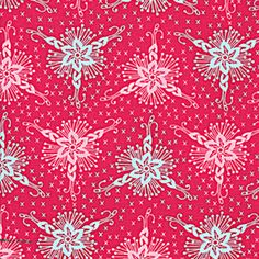 Anna Maria Horner LouLouThi Triflora Lipstick (AH42Lipstick) fabric from Eclectic Maker [AH42Lipstick] : Eclectic Maker, Quilting and patchwork with fabulous designer fabrics and sewing patterns from top designers for all your sewing and dressmaking needs.