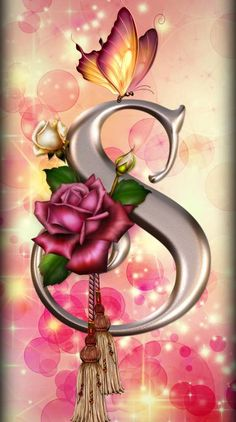 Alphabet Ringtones and Wallpapers - Free by ZEDGE™ Bling Wallpaper, Fairy Wallpaper, Flowery Wallpaper, Flower Background Wallpaper, Flower Phone Wallpaper, Butterfly Wallpaper, Heart Wallpaper, Cellphone Wallpaper, Colorful Wallpaper
