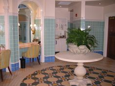 Inside Hershey Hotel Spa, Hershey, PA 2004