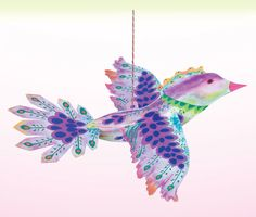 eeBoo Floating Paper Bird - Purple