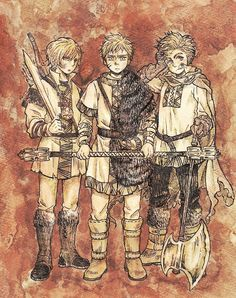 Hetalia - Younger Norway, younger Sweden, and younger Denmark