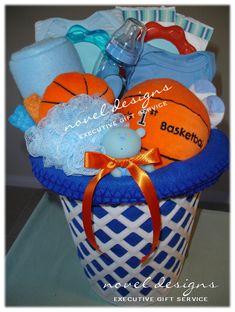 Novel_Designs_LLC_of_Las_Vegas_Custom_Basketball_Baby_Boy_Gift_Basket.JPG 578×766 pixels