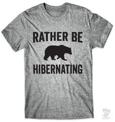 Rather be hibernating!