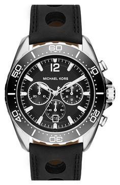 Michael Kors 'Windward' Chronograph Watch, 45mm