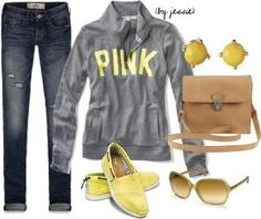 Clothes Casual Outift for • teens • movies • girls • women •. summer • fall • spring • winter • outfit ideas • dates • parties Polyvore :) Catalina Christiano by reva