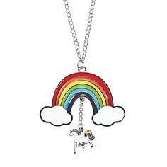 Unicorn Rainbow Necklaces - OrientalTrading.com